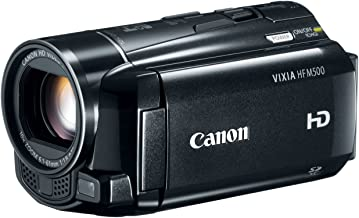 Canon VIXIA HF M500 Full HD 10x Image Stabilized Camcorder with One SDXC Card Slot and 3.0 Touch LCD