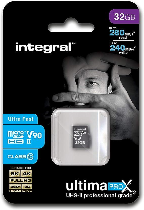 Integral Ultimapro X2 Uhs Ii Microsdxc Speicherkarte 128 Gb