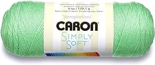 Caron Simply Soft Brites Yarn, 6 oz, Limelight, 1 Ball