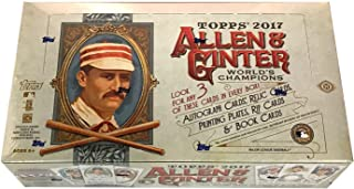 2017 Topps Allen & Ginter Baseball Hobby Box - 24 packs of 8 cards