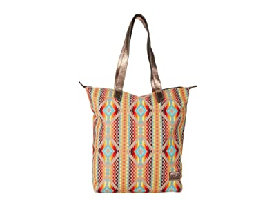 Ariat Southwestern Cruiser Tote (Orange) Bags