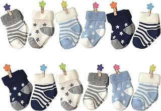 6-18 Months Socks, Colorfox Baby Boys Girls Toddler Novelty Cozy Soft Cotton Crew Socks