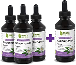 Sponsored Ad - Maxx Herb Passion Flower Liquid Extract (4 Oz Bottle with Dropper) Max Strength, Absorbs Better Than Passio...
