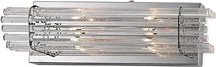 Alico ws702?–?0-15?2ライトAda準拠バスバー、クリアクリスタルロッドDiffusers、 4.5 x 16 x 3.5 x Inch WS702-0-15 1