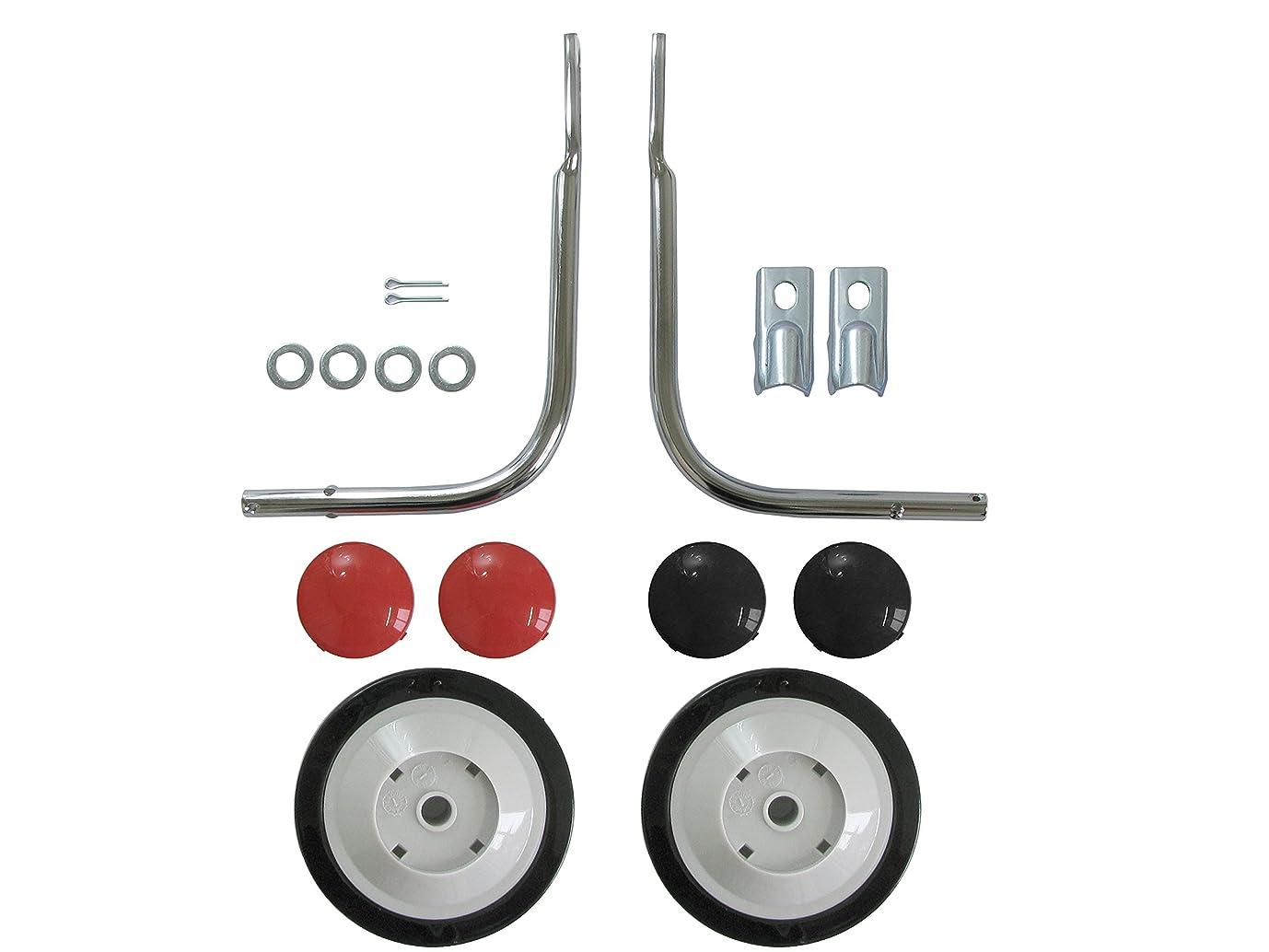 活力基本的なポジションNo Brand 補助輪 レッド/ブラック 18-20型兼用 11513