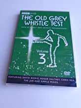 The Old Grey Whistle Test Volume 3 - BBC / Featuring David Bowie, Roger Daltrey, Chris Rea, The Jam and Simple Minds - Japanese Release / Region 0 NTSC DVD