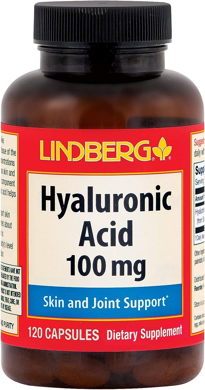 Hyaluronic Acid Rare Pure 100 mg Brand new 120 Capsules
