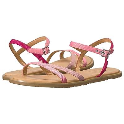 Hunter Original Web Cross Front Sandal (Panther Pink/Pink Sand/Mosse Pink/Gum) Women