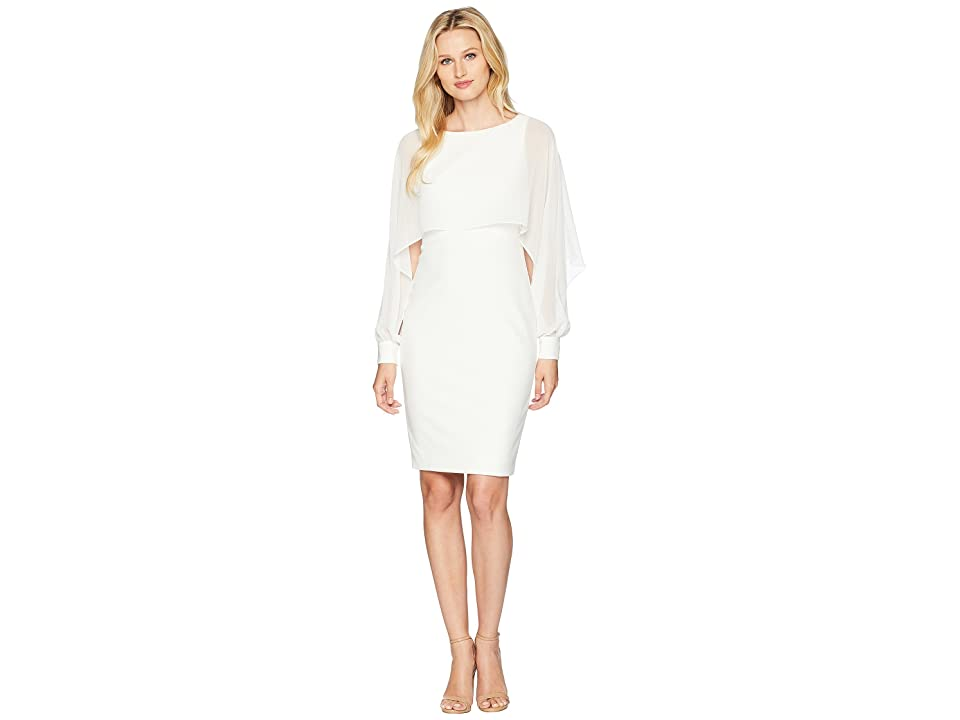 LAUREN Ralph Lauren Dali Day Dress (Cream) Women