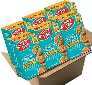 Enjoy Life Crunchy Cookies, Soy free, Nut free, Gluten free, Dairy free, Non GMO, Vanilla Honey Graham, 6 Boxes