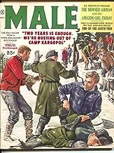 Male 11/1959-Atlas-Mort Kunstler-Walter Popp-pulp thrills-cheesecake-VG
