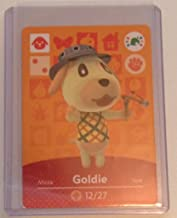 Nintendo Animal Crossing amiibo Festival Card Goldie