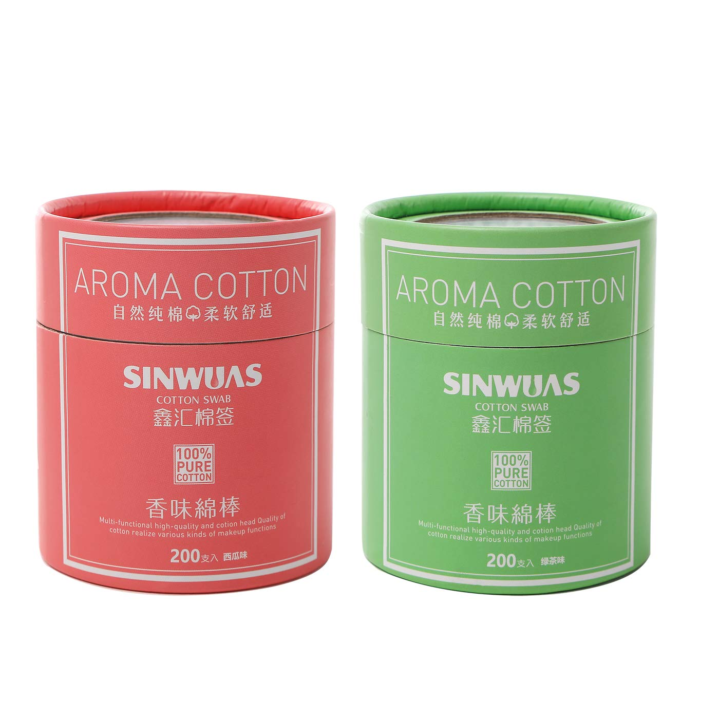 High-grade scented cotton swab watermelon sc lavender green tea Cheap Excellent