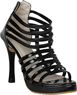 Misto Women and Girls and Formal Synthetic Leather Pencil Heel Sandal