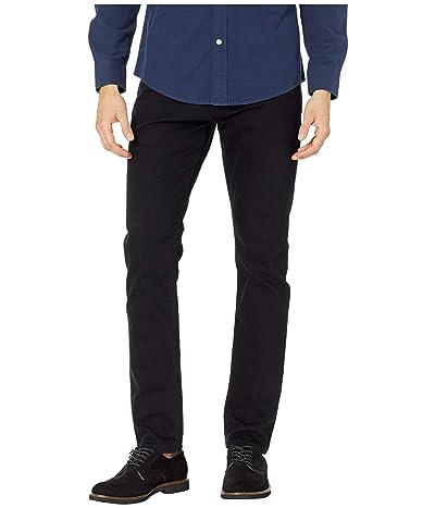 Mavi Jeans Jake Regular Rise Slim Leg in Black Williamsburg (Black Williamsburg) Men