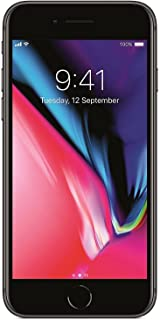 "Apple iPhone 8 4.7"", 256 GB, Fully Unlocked, Space Gray (Renewed)"