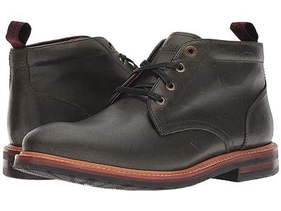 Florsheim Foundry Plain Toe Chukka Boot (Army Green CF Stead) Men