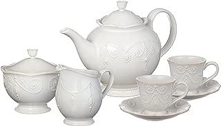 Best white tea set Reviews