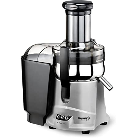 Kuvings NJ-9500U Centrifugal Juice Extractor- Higher Nutrients and Vitamins, BPA-Free Components, Easy to Clean, Ultra Efficient 350W -Silver