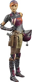 Star Wars The Black Series Sabine Wren Toy 6-Inch-Scale Star Wars Rebels Collectible Action Figure, Toys for Kids Ages 4 a...
