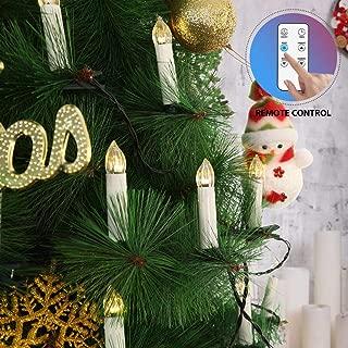 clip on led christmas tree lights