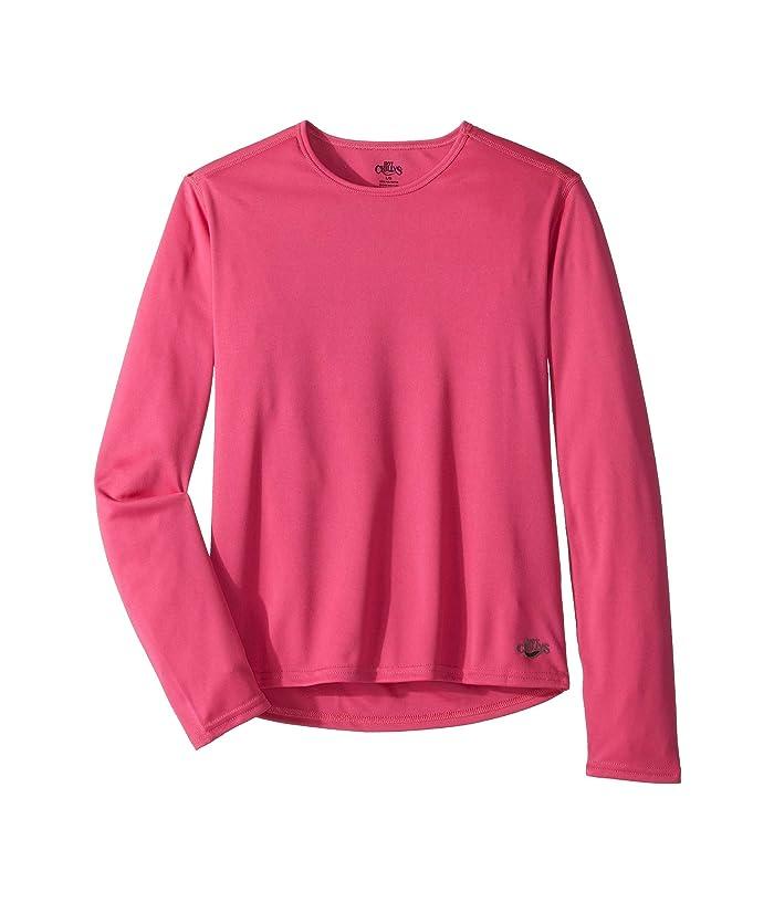 Hot Chillys Kids Peach Crewneck (Little Kids/Big Kids) (Cosmo) Girl's T Shirt
