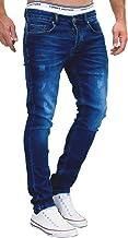 MERISH Jeans Herren Slim Fit Stretch Jeanshose Designer Hose Denim 9148-2100