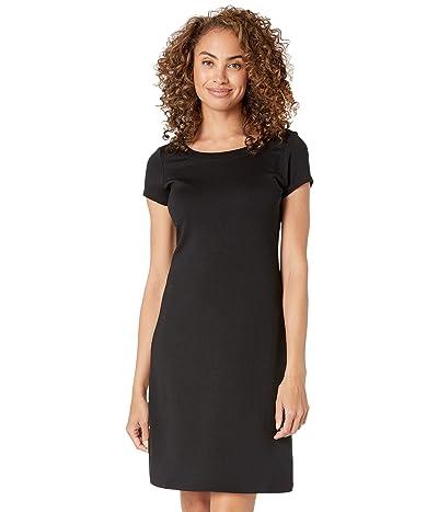 Tommy Bahama Drapey Ponte Short Sleeve Short Dress Women