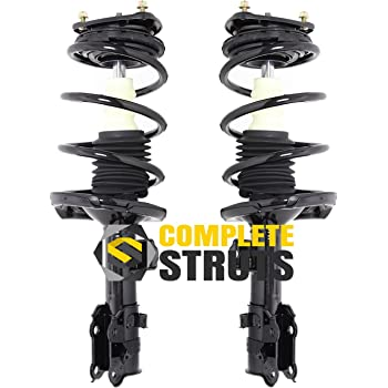 Pair Front Quick Complete Struts /& Coil Spring Assemblies Compatible with 2006-2011 Chevrolet Aveo5