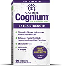 Natrol Cognium for Sharped Mind 200 mg 60 Tabs 100 g Estimated Price : £ 32,35