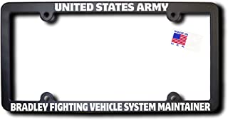 US Army BRADLEY FIGHTING VEHICLE SYSTEM MAINTAINER License Frame