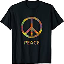 Peace Sign T-Shirt cool tee hippie design Love Unity gift