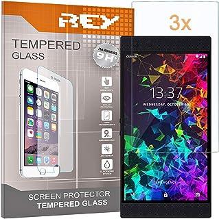 Skärmskydd för RAZER PHONE 2, härdad glasfilm, premiumkvalitet, [Paket 3x]