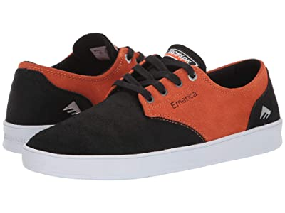 Emerica The Romero Laced X Bronson (Black/Orange) Men