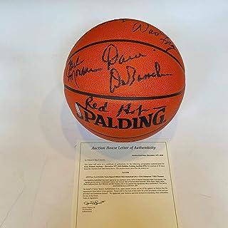 b55c6959f 1973 New York Knicks World Champions Team Signed Basketball COA   UDA Holo  - JSA Certified