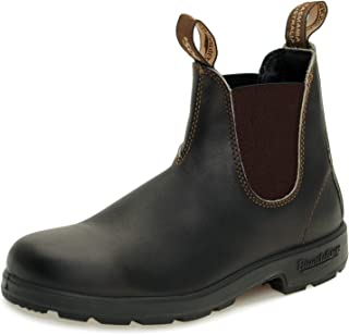 Blundstone Original Stout Brown Premium Leather Boots 500