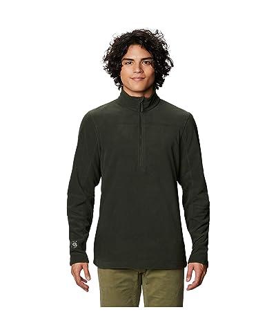 Mountain Hardwear Microchill 2.0 Zip T (Black Sage) Men