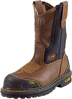 "CEBU Men's Tk Farmer 10"" Steel-Toe Work Boot"