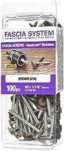 Headcote Stainless Steel Fascia Screws for Deck Installation 9 X 1-7/8