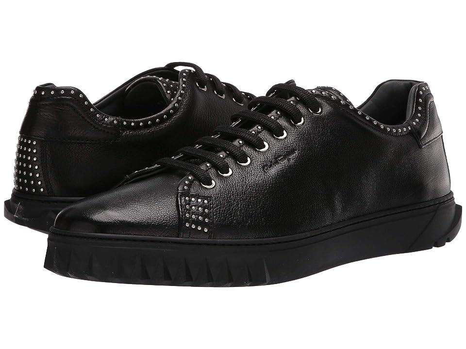 Salvatore Ferragamo Cube 10 Sneaker (Black) Men