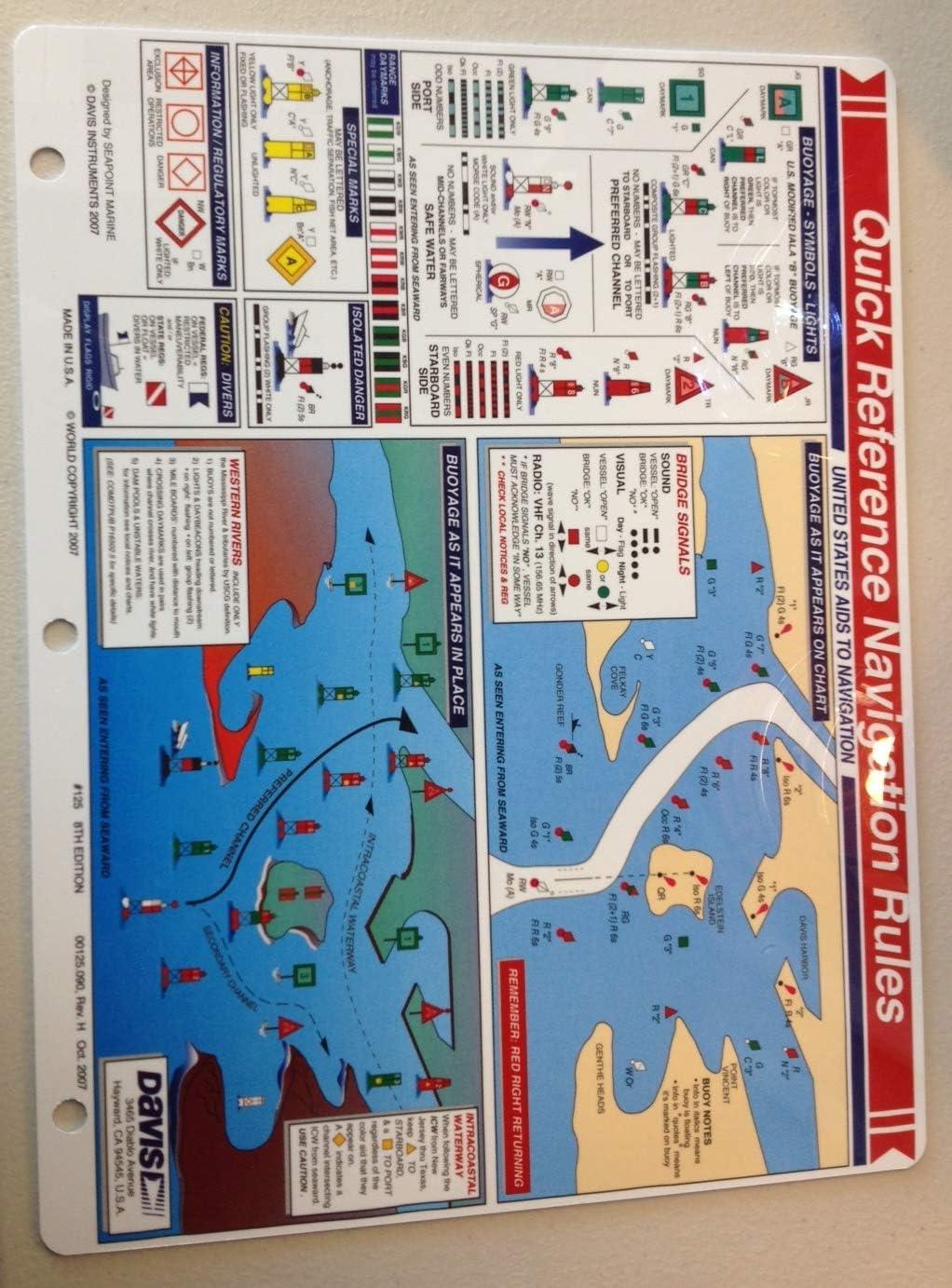 Boating Quick Reference Bundle Navigation 125, Intl Nav. 127, Boating Procedures 128, Celestial Nav 132 (4 Items)