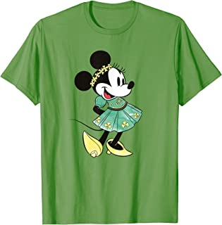 Minnie Mouse Shamrock Dress St. Patrick's Day T-Shirt