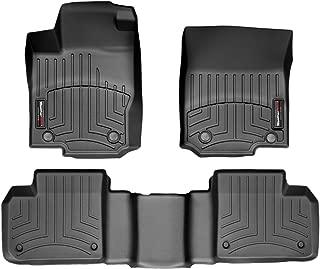 WeatherTech Custom Fit FloorLiner - 44401-1-2-1st & 2nd Row (Black)