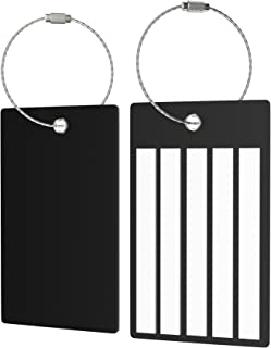 62f5ef10da Amazon.com  Blacks - Luggage Tags   Luggage Tags   Handle Wraps ...