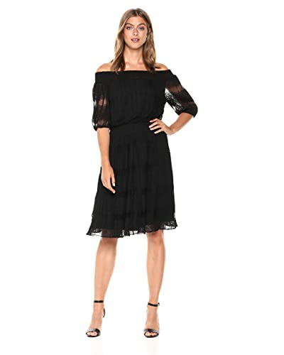 1a81d550c956 Off The Shoulder Dress Fit and Flare Dress  Amazon.com