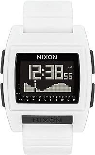 Nixon Base Tide Pro Watch One Size White