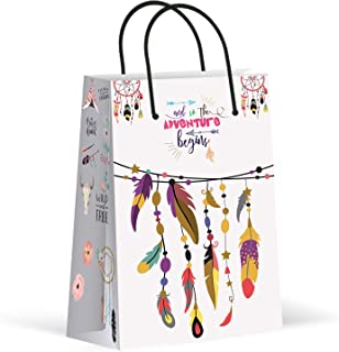 Premium Boho Party Bags, Tribal Party Favor Bags, New, Treat Bags, Gift Bags, Goody Bags, Party Favors, Party Supplies, Decorations, 12 Pack