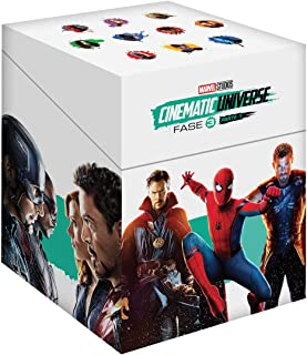 Paquete Marvel Fase 3 Parte 1 - BR Blu-ray