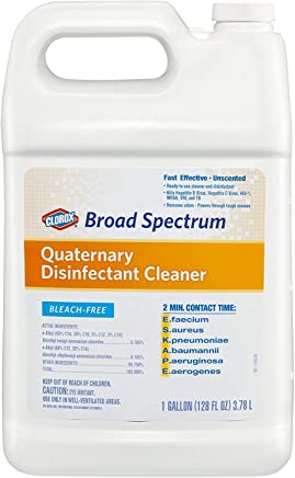 Broad Spectrum Quaternary Disinfectant Cleaner, Refill, 128 Ounces (30651)