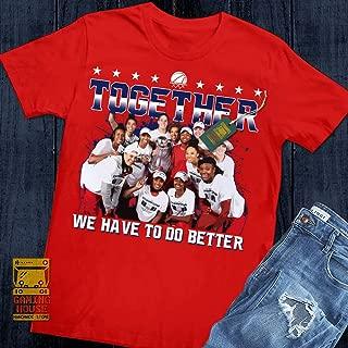 GAMINGHOUSE DC Washington Basketball Women Basketball Champions 2019 Unisex Men Women Fans Jersey T-Shirt   Premium Tee   Long Sleeve T-Shirt   Hoodie   Sweater   Tanktop